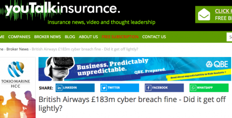 British Airways Fined £183m After Cyber Breach - but Did it Get off